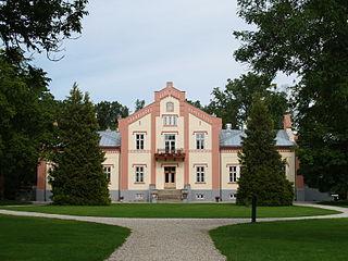 Pädaste Village in Saare County, Estonia