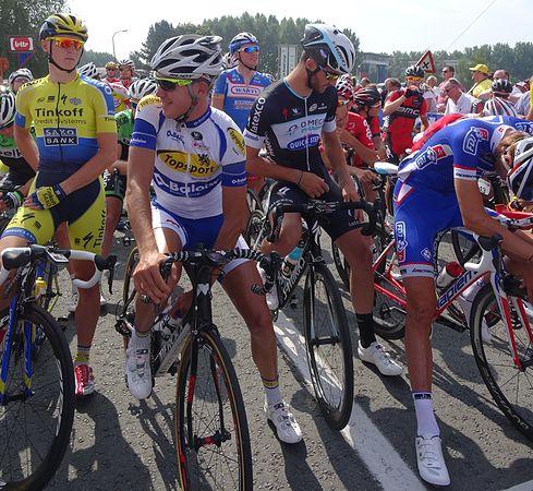 Péronnes-lez-Antoing (Antoing) - Tour de Wallonie, étape 2, 27 juillet 2014, départ (D14).JPG