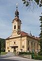 Pörtschach Pfarrkirche hl. Johannes d. T. SW-Ansicht 26062015 2857.jpg