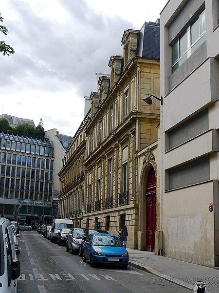 Fichier:P1050470 Paris VIII rue Paul Baudry rwk.JPG