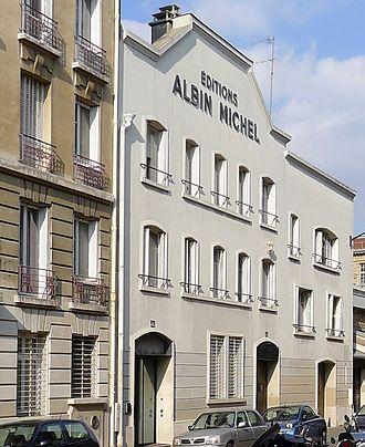 Éditions Albin Michel - Image: P1330798 Paris XIV rue Huyghens detail rwk