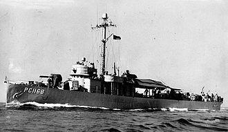 USS PC-1168 - Image: PC1168Sister Nogah