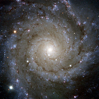 Messier 74 Face-on spiral galaxy in the constellation Pisces