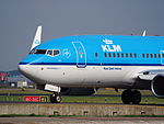 PH-BGI KLM Royal Dutch Airlines Boeing 737-7K2(WL) - cn 30364 taxiing, 25august2013 pic-2.JPG