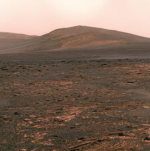Pancam - Image: PIA17078 Opportunity's view of 'Solander Point'