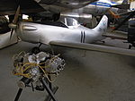 PIK-11 Tumppu sport aircraft in Finnish Aviation Museum. Continental A-65 engine. Serial number 1.