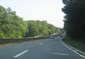 Palisades Interstate Parkway - The parkway's northern terminus in Fort Montgomery, New York