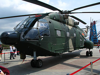 Aérospatiale SA 321 Super Frelon - A Z-8KH of the PLAAF
