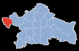 Завады на карте