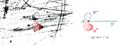 Paarbildung gamma p Desy Blasenkammer Rekonstruiert.png