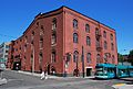 Pacific Coast Biscuit Co. Building with streetcar, 2011.jpg