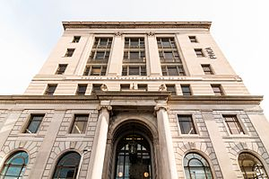 Pacific Northwest College of Art - The 511 Federal Building was built in 1916–18 as a post office and is listed on the National Register of Historic Places. It is now PNCA's main campus, the Arlene and Harold Schnitzer Center for Art and Design.