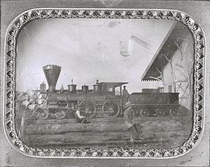 Gasconade Bridge train disaster - Image: Pacific Railroad Freight Locomotive O'Sullivan