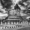 Pagoda - Wat Chedi Luang temple Chiang Mai Thailand..jpg