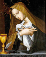 Praying Madonna