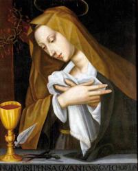 Plautilla Nelli: Praying Madonna