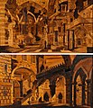 Pair of North Italian Walnut and Fruitwood Pictorial Marquetry Panels, possibly by Ignazio or Luigi Ravelli.jpg