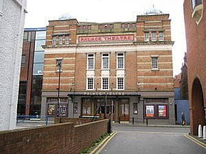 Watford Palace Theatre - Watford Palace Theatre from the outside in 2008
