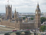 Palace of Westminster from the London Eye, August 2014 02.JPG