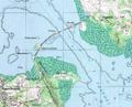 Palau Koror-Babeldaob bridge map.png
