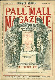 <i>The Pall Mall Magazine</i> monthly literary magazine