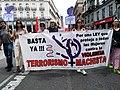 Pancarta en la manifestación 1 de mayo 2019. Madrid.jpg