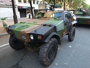 Panhard VBL (Vèhicule Blindé Legér), French army licence registration '6924 0057' pic2.JPG