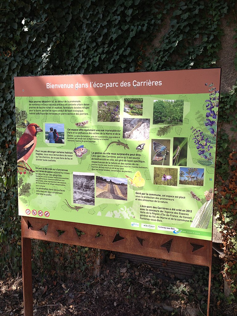 File Panneau Porte N 1 Ecoparc Des Carrieres Fontenay Sous