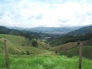 Caldas, Antioquia - Image: Panoramica de Caldas Antioquia