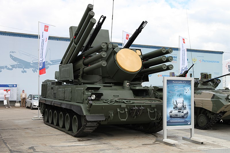 File:Pantsir-S1 SAM at Engineering Technologies 2012.jpg