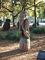 "Papua New Guinea Sculpture Garden at Stanford University, ""The Thinker"" 3.jpg"