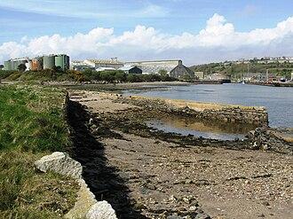 Par, Cornwall - Par Harbour in 2009