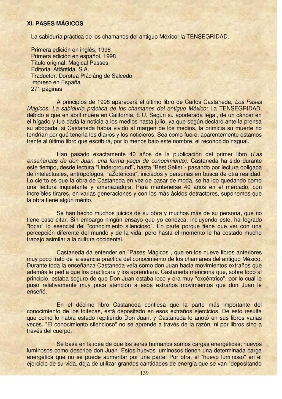 Página:Para leer a Carlos Castaneda.djvu/139 - Wikisource
