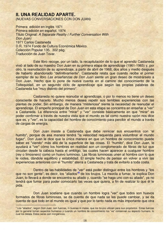 Página:Para leer a Carlos Castaneda.djvu/18 - Wikisource