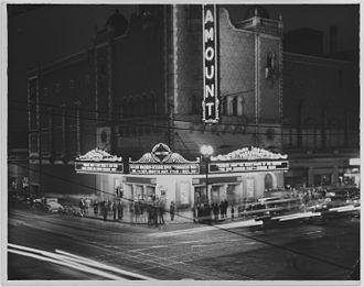 Tobacco Road (play) - Image: Paramount Theater. Omaha NARA 283720