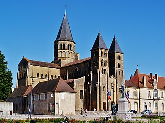 Paray-le-Monial - The basilica of Paray-le-Monial
