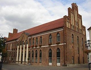 Parchim Place in Mecklenburg-Vorpommern, Germany
