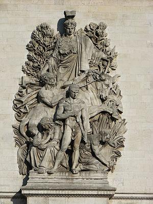 Antoine Étex - Image: Paris Arc de Triomphe 02
