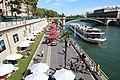 Paris Plages 2016 sur la Voie Pompidou à Paris le 14 août 2016 - 24.jpg