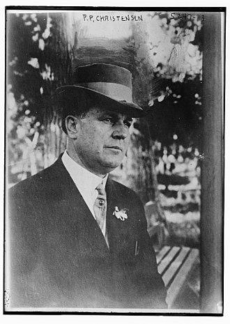 Parley P. Christensen - Image: Parley Parker Christensen circa 1920