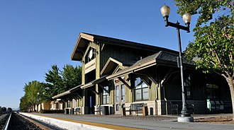 Paso Robles station - Image: Paso Robles Train Station