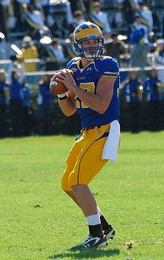 Pat Devlin (American football) - Devlin at Delaware
