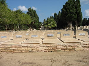 Patria disaster - Graves of some of the victims of the sinking