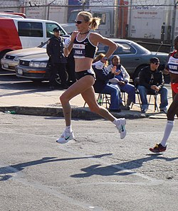 Paula Radcliffe at the 2007 New York marathon