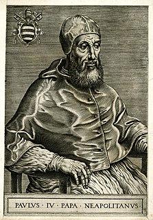 Pope Paul IV 16th-century Catholic pope