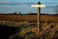 Peddars Way ( Ancient Track ) Signpost. - geograph.org.uk - 125411.jpg