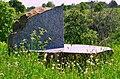 """Pedvāle open air museum. """"Opened Stone. 8-5=3"""" by Ojārs Feldbergs - panoramio.jpg"""