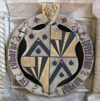 Edward Littleton (died 1558) - Arms of Sir Edward Littleton.
