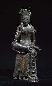 Milefo bodhisattva dispensant le bonheur et la prospérité