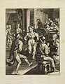 People engaged in pleasures (dancing, drinking.. Wellcome L0074158.jpg